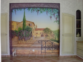 peinture-village-provence4