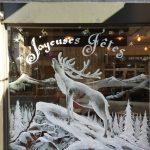 décor vitrine- Boulangerie Drap