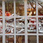 Décor vitrine- Brasserie Le Splendid
