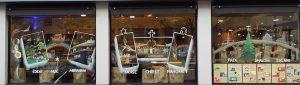décor vitrine-boulangerie au temps d'une pause