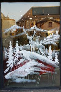 décor vitrine- Boulangerie  Gerland